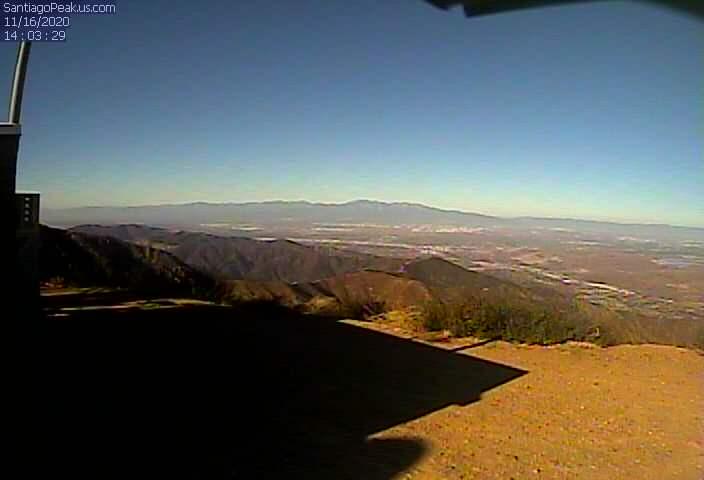 Santiago Peak above the O.C 5400 Feet